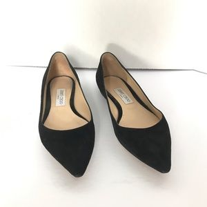 ✨HOST PICK✨ Jimmy Choo London Romy Flat Black